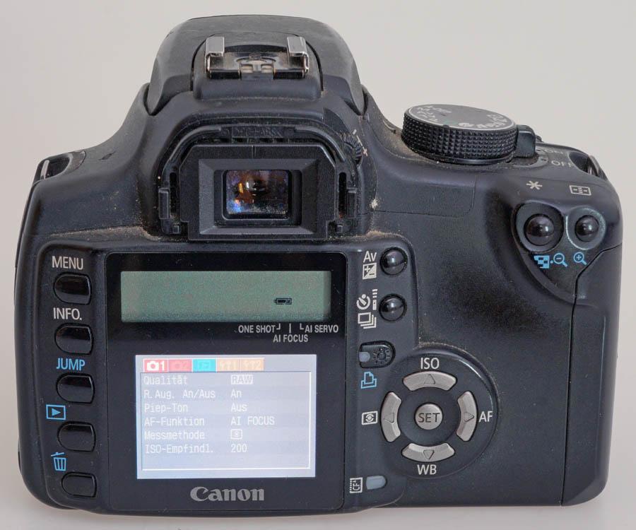 Canon DSLR EOS 350D - Digitalkamera-Museum