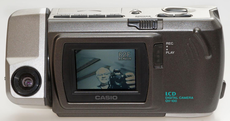 Digitalkamera-Museum: Casio QV 100