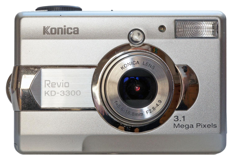Konica Digital Revio Kd 220z manual