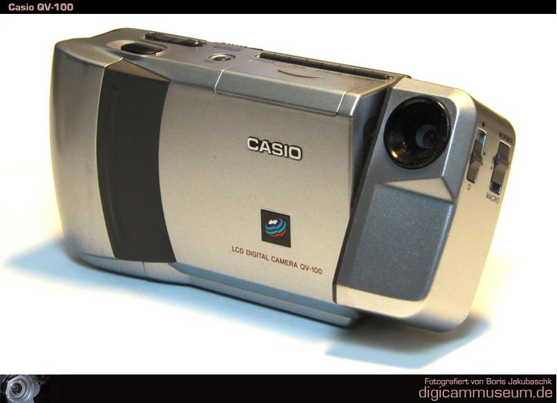 Digitalkamera-Museum: Casio QV-100
